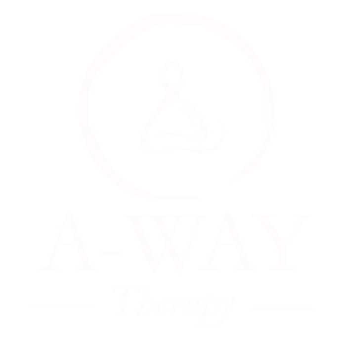 A-WAY THERAPY Logo white